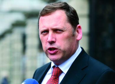 Fianna Fail's housing spokesperson Barry Cowen.