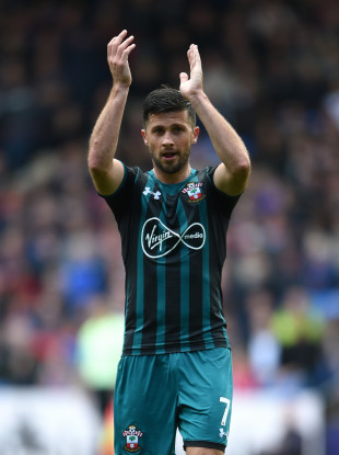 Shane Long made his first Southampton start of the season today.