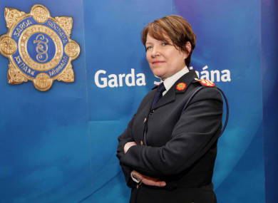File photo of former garda commissioner Nórín O'Sullivan who stepped down from the role earlier this month.