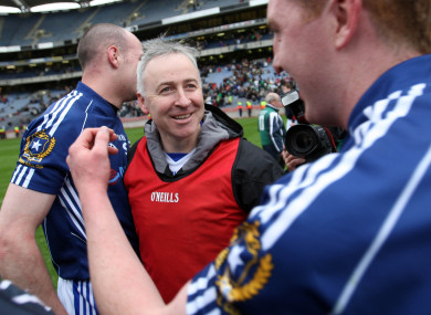 Lenny Harbinson celebrating St Gall's victory in 2010.