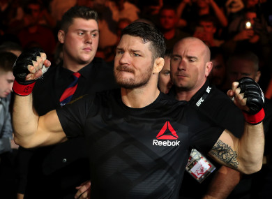 UFC middleweight champion Michael Bisping.