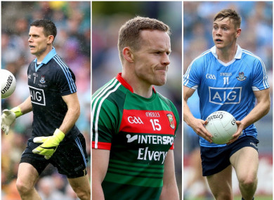 Stephen Cluxton, Andy Moran and Con O'Callaghan are all in the running.