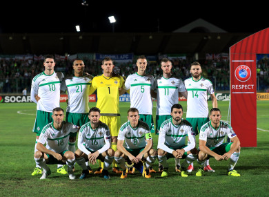 Northern Ireland face Czech Republic tonight.