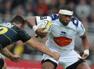 The Fijian has previously played in the Top 14 with Agen.