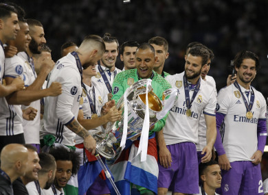Will Madrid have cause to celebrate again this season?