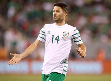 Ireland's Wes Hoolahan.