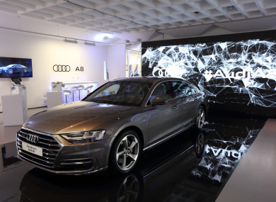 Audis New A Flagship Saloon Has Arrived In Ireland TheJournalie - Audi ireland
