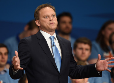 Former Conservative Party chairman Grant Shapps