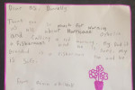 Meteorologist Joanna Donnelly got a cute letter from a little girl thanking her for the days off school