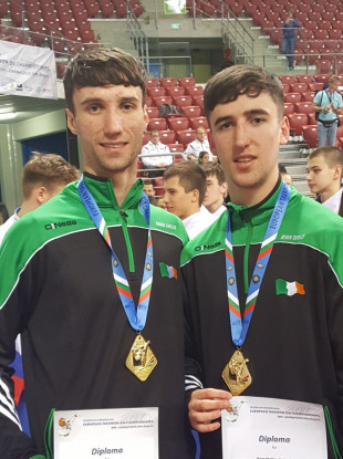 Adam (left) and Ryan Shelley (right).