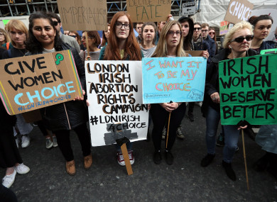 The UK government's decision was welcomed by the London-Irish abortion rights campaign.