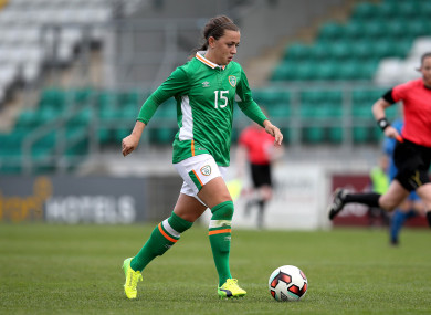 Ireland captain Katie McCabe was on the scoresheet today.