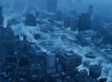Scenes from movie The Day After Tomorrow