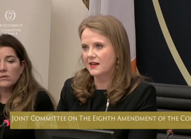 Noone speaking at the committee's hearing yesterday