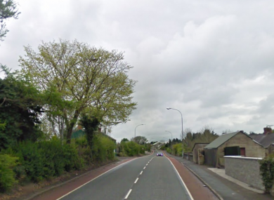 A stretch of the Old Newry Road in Dundalk, Louth.