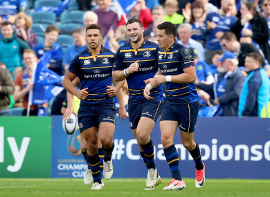 Henshaw and Reid start in Leinster's midfield but Adam Byrne has been dropped.