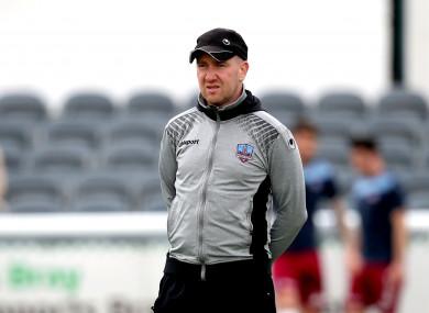 Galway boss Shane Keegan (file pic).