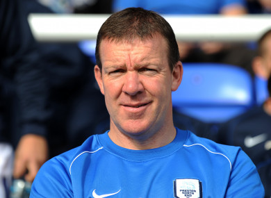 Kelly previously worked as the goalkeeping coach at Preston.