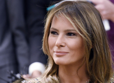 Melania was not impressed with her husband's ex-wife's comments.