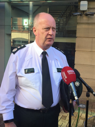 Police Service of Northern Ireland Chief Constable George Hamilton.