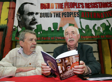 The Communist Party of Ireland was unable to get its accounts publicly audited due to limited resources.