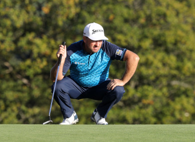 McDowell: finished three back (file photo).