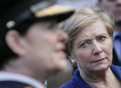 Tánaiste Frances Fitzgerald and former Garda Commissioner Noirín O'Sullivan (file).