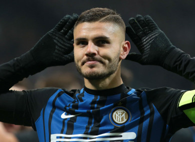 Inter's Mauro Icardi is undervalued according to his agent.