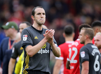 Sunderland's John O'Shea (file pic).