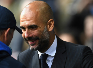 Pep Guardiola has paid tribute to axed West Brom boss Tony Pulis.