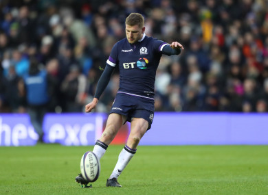 Russell announced earlier this month that he was leaving Glasgow.