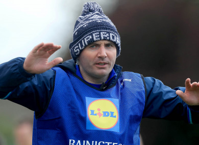 Mourneabbey manager Shane Ronayne guided Tipperary to All-Ireland glory this year.
