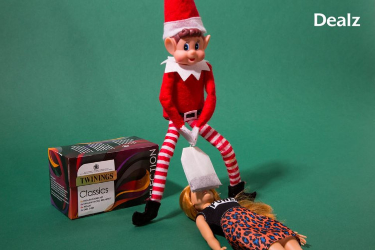 elf on the shelf dating barbie