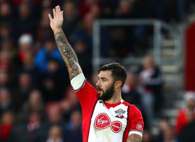 Southampton striker Charlie Austin.