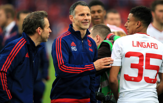 Come and get me! Ryan Giggs voices his interest in Wales top job