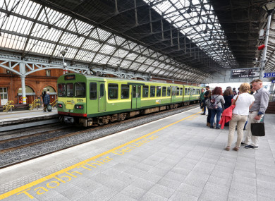 Pearse Station is Ireland's second busiest train station and the busiest commuter station.