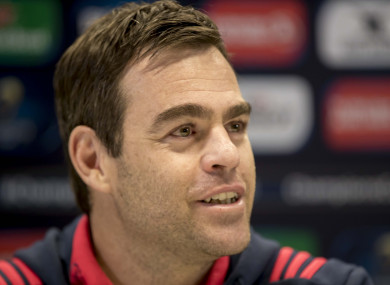 Van Graan says Stander signing is a massive boost for Munster.