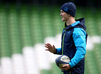 Jonathan Sexton is set to start for Leinster against Ulster.