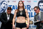 'May the best fighter win': No weight trouble in London as Taylor and McCaskill gear up for war