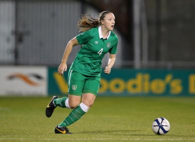 Ireland international Louise Quinn enjoyed a successful stint in Sweden with Eskilstuna.