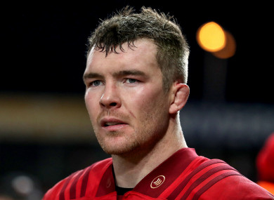 O'Mahony was bitterly disappointed with Munster's performance.