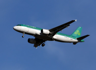The airline said passengers would be flown onwards on the next available flight.