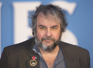 File photo of Peter Jackson.