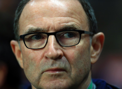 Martin O'Neill now looks unlikely to become the new Stoke boss.