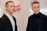 Jedward got a makeover on a TV show, and ended up looking like hipster priests