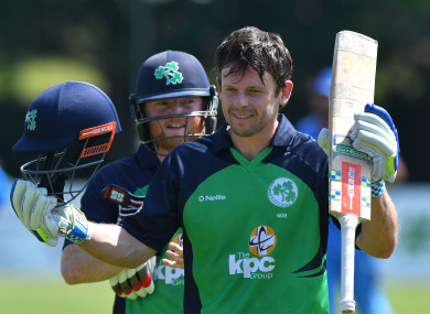 Joyce scored his sixth ODI century for Ireland on Thursday.
