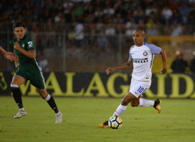 Joao Mario hasn't lived up to expectations at Inter.