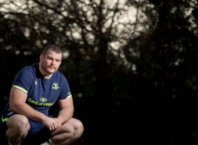 McGrath pictured outside Leinster HQ in UCD yesterday.