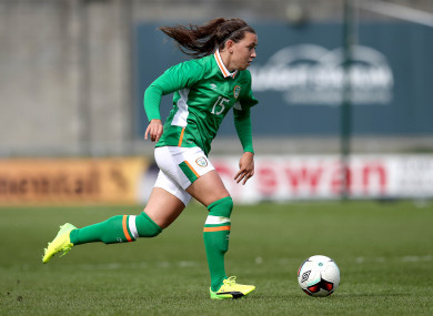 Katie McCabe was among the goalscorers today (file pic).