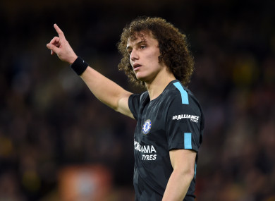 David Luiz is being linked with a move to Arsenal.